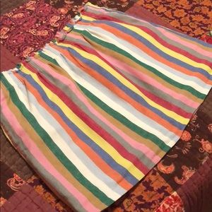J. Crew colorful skirt size 14